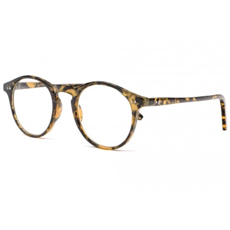 Lunettes loupe originales rondes jaunes ecaille Koff Lunette Loupe New Time