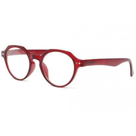 Lunettes loupe rouges tendance Lary Lunette Loupe New Time