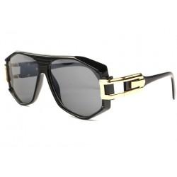 Grosses lunettes de soleil Fashion Noir Stall Lunettes de Soleil SOLEYL