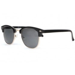 Lunettes de soleil vintage noir mat Club Arsty Lunettes de Soleil Eye Wear