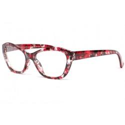 Lunettes loupe papillon rouges et noires Fashion Lara Lunette Loupe ProLoupe