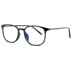 Fines Lunettes Ecran Anti Lumiere Bleue noires luxe Aray Lunette écran Rosalba