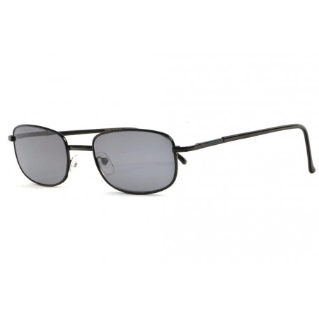 Lunettes Loupe Solaires Noires Fines Metal Soly Lunettes Loupe Solaire New Time