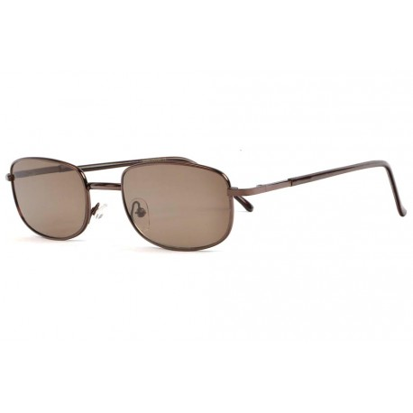 Lunettes Loupe Solaires Marrons Fines Metal Soly Lunettes Loupe Solaire New Time