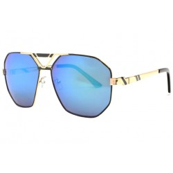 Grandes lunettes soleil Miroir Bleu Tendance Classe Nolas Lunettes de Soleil Spirit of Sun