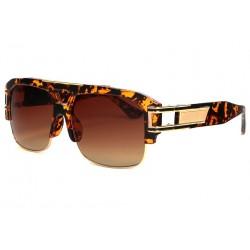 Grosses lunettes soleil marron ecailles vintage Krak Lunettes de Soleil SOLEYL