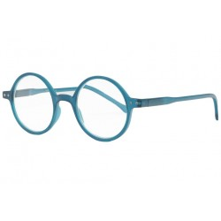 Lunettes loupe rondes bleues tendance slim Apy Lunette Loupe New Time