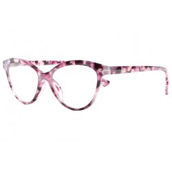 Lunettes Loupe femme rose parme papillon Naly Lunette Loupe New Time