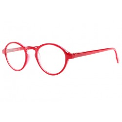 Lunettes loupe rondes rouge tendance Soly Lunette Loupe New Time