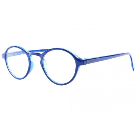 Lunettes loupe rondes bleues originales Soly Lunette Loupe New Time