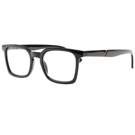 Lunettes loupe noir vintage rectangles Blake Lunette Loupe New Time