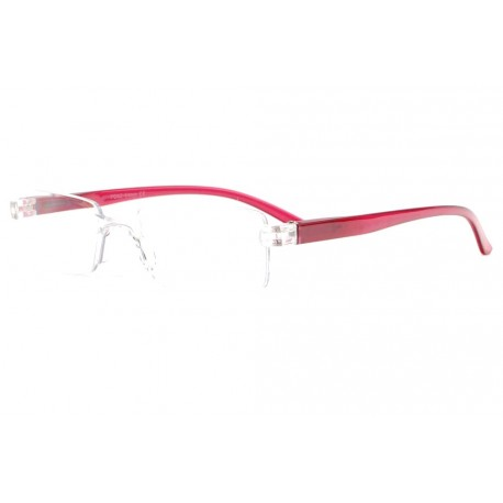 Lunettes loupe rouges discretes et legeres Ayber Lunette Loupe New Time