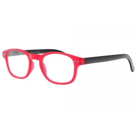 Lunettes de lecture rouges et noires fashion Asta Lunette Loupe New Time
