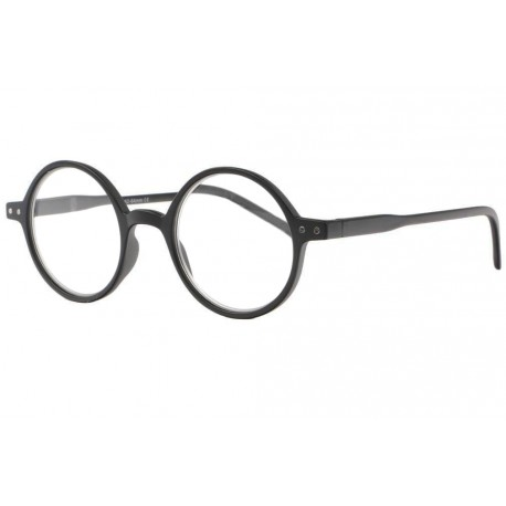 Lunettes loupe rondes noires tendance slim Apy Lunette Loupe New Time