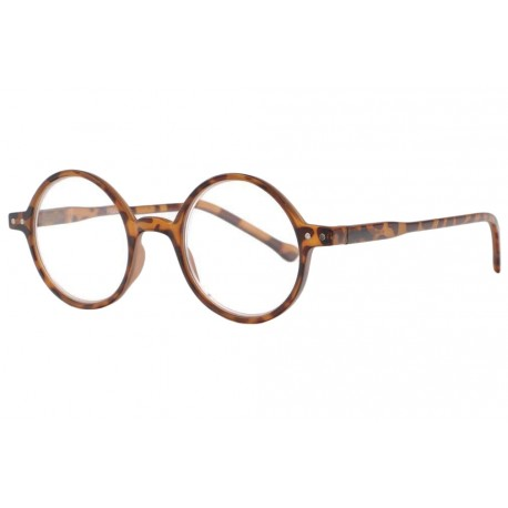 Lunettes loupe rondes vintage marron slim Apy Lunette Loupe New Time