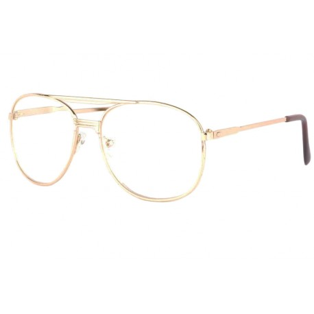 Grandes lunettes loupe métal dorées Optya Lunette Loupe New Time