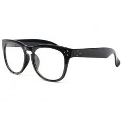 Grosses lunettes sans correction fashion noires Lyko Lunettes sans correction New Time