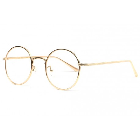 Grandes lunettes rondes sans correction retro dorees Arkel Lunettes sans correction Spirit of Sun