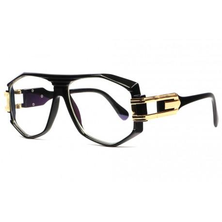 Grosses lunettes sans correction vintage noires fashion Stall Lunettes sans correction SOLEYL