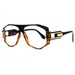 Grandes lunettes sans correction vintage marron fashion Stall