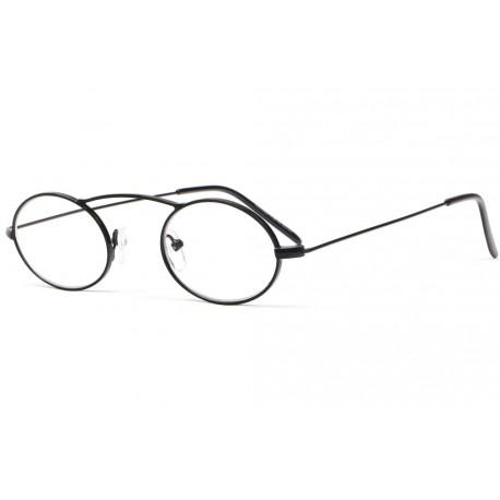 Petites lunettes loupe rondes noires en métal Fylk Lunette Loupe ProLoupe