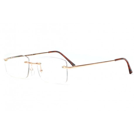 Lunettes loupe percees dorees discretes Gadyr Lunette Loupe New Time