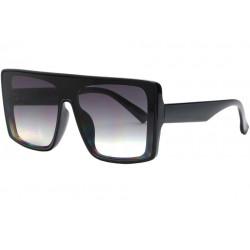 Grosses lunettes de soleil Noires Fashion Design Kiev Lunettes de Soleil Eye Wear