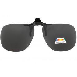 Clip solaire polarisé surlunettes de soleil aviateur Noir Nerk Accessoires lunettes Loupea