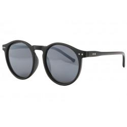 Lunettes de soleil rondes noir mat classe Jyk Lunettes de Soleil Eye Wear