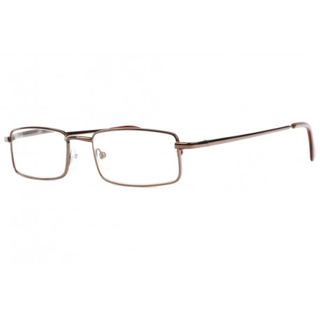 Lunettes loupe metal marron rectangles Escoy Lunette Loupe New Time