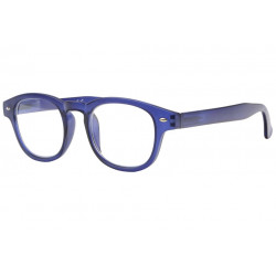 Lunettes loupe bleues translucides classe Roma Lunette Loupe New Time