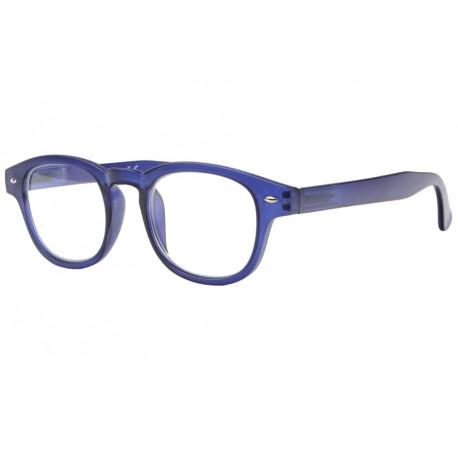 Lunettes loupe bleues translucides classe Roma Lunette Loupe New Time