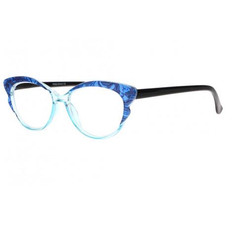 Lunettes de lecture femme bleues papillon fantaisies Vivy Lunette Loupe New Time