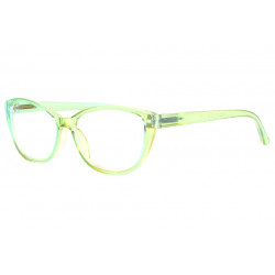 Lunettes loupe femme vertes transparentes Myna Lunette Loupe New Time