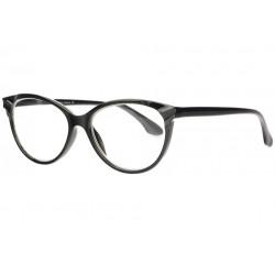 Fines lunettes loupe femme papillon noires Well Lunette Loupe New Time
