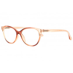 Lunettes loupe femme papillon marron transparent Well