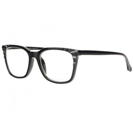 Grandes lunettes de lecture femme noires classes Maly Lunette Loupe New Time