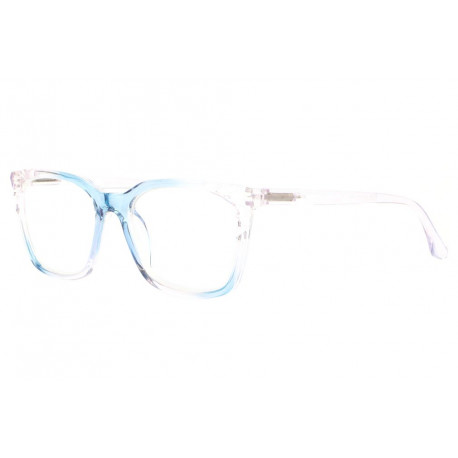 Grandes lunettes loupe femme bleu transparent Maly Lunette Loupe New Time