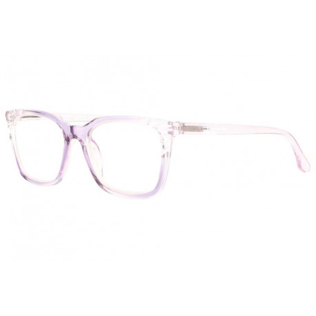 Grandes lunettes loupe femme violettes transparentes Maly Lunette Loupe New Time