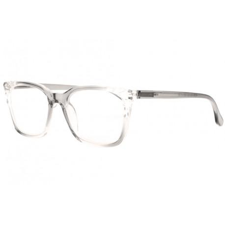 Grandes lunettes de lecture femme grises transparentes Maly Lunette Loupe New Time