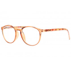 Lunettes loupe rondes marron originales fashion Syva Lunette Loupe New Time
