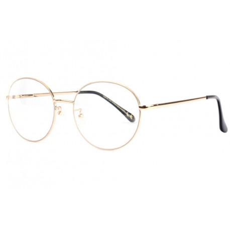 Grandes lunettes sans correction rondes dorees tendance Zyla Lunettes sans correction Spirit of Sun