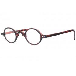 Petites lunettes loupe rondes marron ecailles mat retro Cluny Lunette Loupe New Time