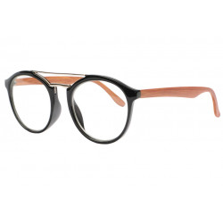 Lunettes sans correction bois marron et noir originales Wooda Lunettes sans correction SOLEYL