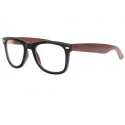 Fausses Lunettes bois marron et noires originales Futya Lunettes sans correction SOLEYL