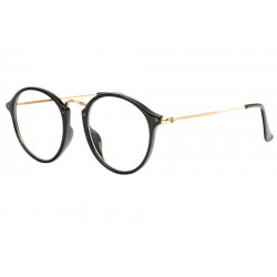 lunettes sans correction noires et dores originales Excy Lunettes sans correction Spirit of Sun