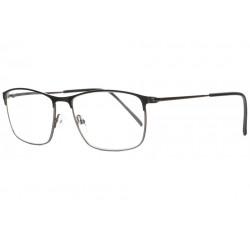Fines lunettes loupe metal noir mat slim rectangles Aliou Lunette Loupe ProLoupe