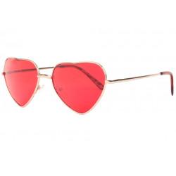 Lunettes de soleil coeur rouge fashion Heart Lunettes de Soleil Eye Wear