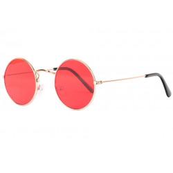 Petites lunettes de soleil rondes rouges fashion Submy Lunettes de Soleil Eye Wear
