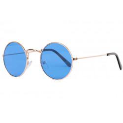 Petites lunettes de soleil rondes bleues fashion Submy Lunettes de Soleil Eye Wear